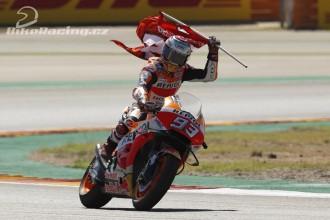 Další skvělé vítězství Marca Marqueze