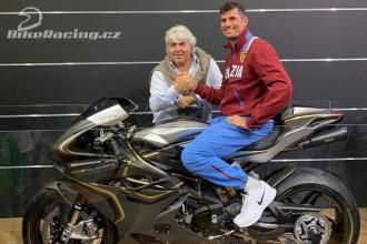 Simone Corsi v Moto2 s MV Agustou