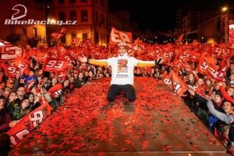 Márquez oslavil sedmý titul