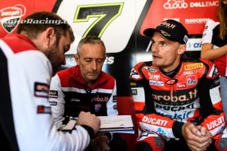 U Ducati hodnotí test pozitivně