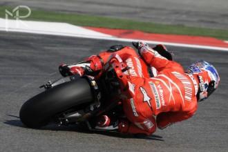 Další Stonerův pád v závodě MotoGP