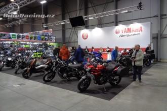 Výstava Motosalon 2017 obrazem