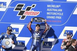 Vinales vyhrál GP Austrálie