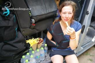 Těžký den pro tým Klymčiw Racing