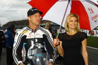Superbiker Larry Pegram zahrádkářem