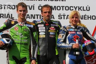 České pódium třídy Supersport