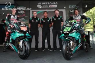 Představení Petronas Yamaha Sepang Team