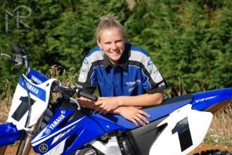 Nejrychlejší motokrosařka světa pojede Yamahu