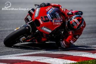Ducati ovládla testy v Malajsii