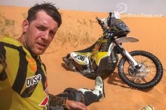Honza Brabec trénuje na Dakar