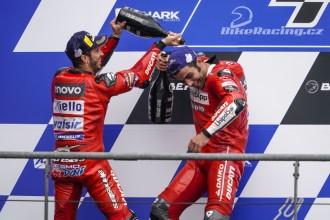 Double pódium pro Ducati