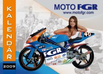 Kalendář Moto FGR pro rok 2009