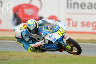 Lorenzo Savadori Mistrem Evropy 125cc