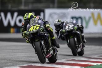 Rossi spokojen s čtvrtou pozicí
