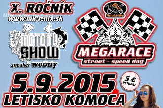 Megarace Street-Speed day 5.9.2015