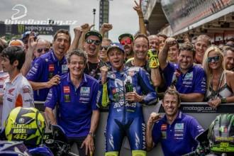Rossi třetí, Vinales šestý