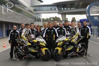 Představení týmu Monster Yamaha Tech3