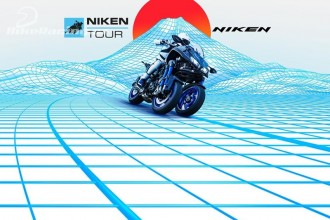 Demo turné motocyklu Niken 2018