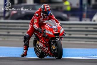 Jezdci Ducati se připravovali na Le Mans