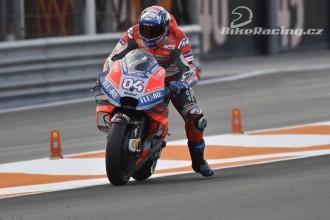 Ducati testovala ve třech