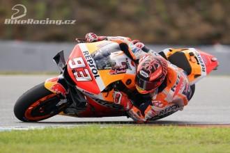 Marquez testoval nový rám a aerodynamiku