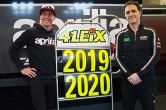 Alex Espargaro zůstává u Aprilie
