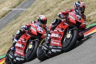 Dvakrát top pět pro Ducati
