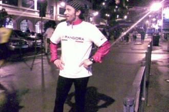 Max Biaggi běžel maratón