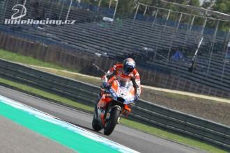 Dovi nejrychlejší, Lorenzo havaroval