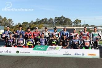 MotoE test Jerez - středa