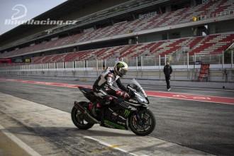 Rea a Lowes testovali v Barceloně