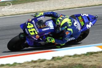 Rossi v Brně odstartuje z první řady