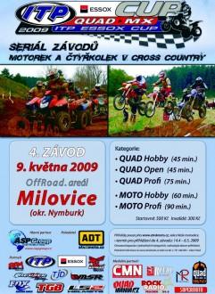 Aktuální závod Milovice 9.5. 2009