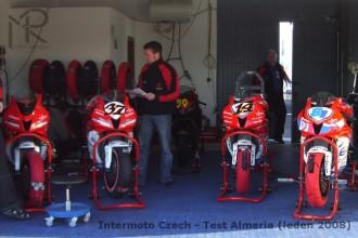 Intermoto testovalo ve Španělsku