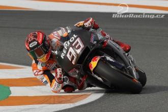 Marquez testoval tři různé motocykly