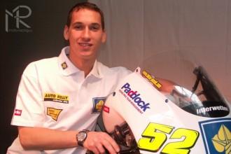 Lukáš Pešek  v 1. kvalifikaci v Jerezu sedmý