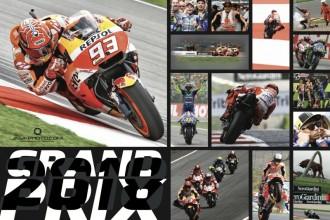 Nástěnný kalendář Grand Prix 2018