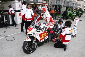 Smůla opět udeřila do týmu Honda Gresini