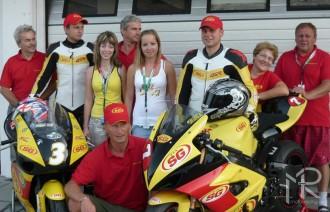 Team SG FIX racing na Hungaroringu