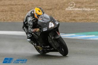 Test Moto2 Jerez – neděle