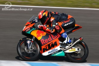 IRTA test Moto3 Jerez – čtvrtek