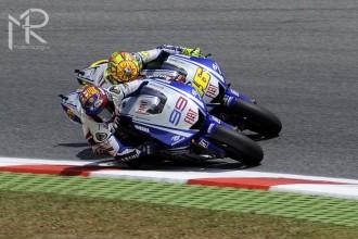 Skvělý závod pro Rossiho a Lorenza