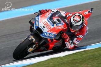 Lorenzo se vrací k závodění