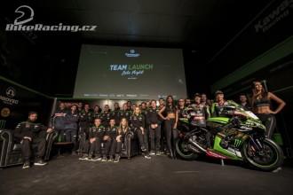 Představení Kawasaki Racing WorldSBK Teamu