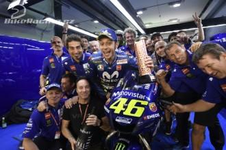 Rossi začal sezonu pódiem