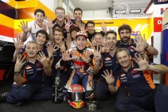 Marquez oslavil deváté vítězství