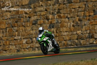 Team Kawasaki Intermoto Step po Aragonu