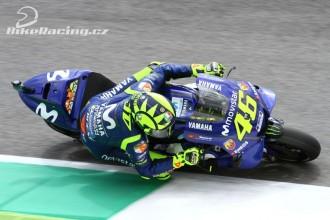 Rossi v Mugellu na pole position