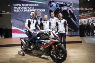 Oficiální představení BMW WSBK