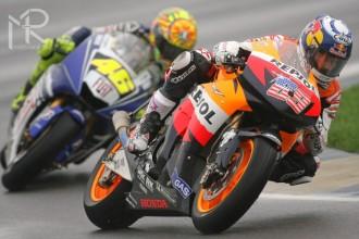 GP Valencie MotoGP  1. + 2. trénink